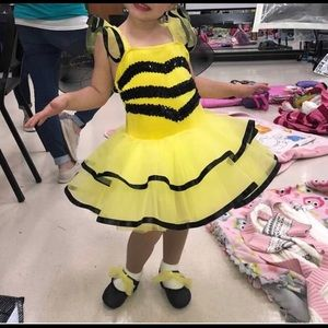 Bummer Bee Costume Size 4/5